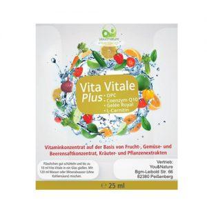 Vitaminkonzentrat OPC, Coenzym Q10, Gelée Royal und L-Carnitin