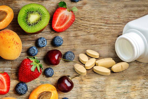 Natürliche Nahrungsergängzungen