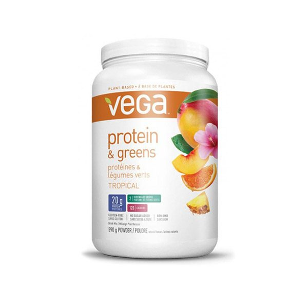 Vega Protein und Greens Tropical