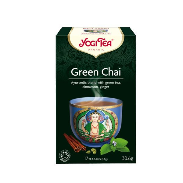 YogiTea Green Chai