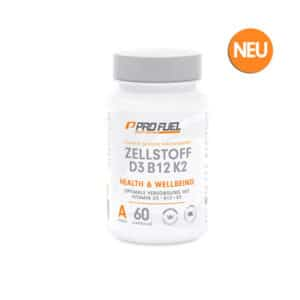 ProFuel Zellstoff D3 B12 K2 Vitaminkomplex